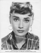 Audrey Hepburn Original 8x10 Glossy Vintage Photograph Issued By Paramount