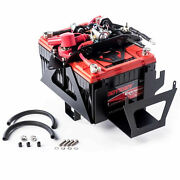 Genesis Offroad Dual Battery 200 Amp Isolator And G Screen For 12-18 Jeep Wrangler