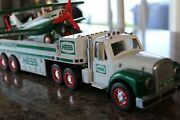 Hess 2002 Toy Truck And Airplane This 18 Wheeler Is Hard To Find Soon To Be Colt
