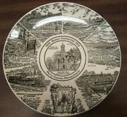 Perry County Pennsylvania Sesquicentennial Plate 1820-1970 8 Scenes.andnbsp