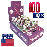 100 New Vending Route Display Honor Boxes Sell Candy And Lollipop Donation Charity