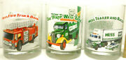 1996 Hess Gas Truck Glasses Set Of 12 Tumblers Set 3 Each Same Design Never Used