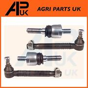 2x Track Rod End + Steering Joint For Case International 238 248 258 268 Tractor