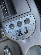 Fits Jeep Cherokee Xj Ash Tray Ashtray 3 Switch Plate Switches Crawler Off Road