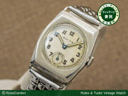 Rolex Vintage 15 Jewels Manual Winding Mens Watch Authentic Working