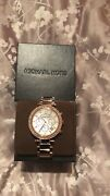 Chronograph Ladies Wristwatch - Mother Of Pearl/rose