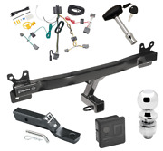 Trailer Tow Hitch For 08-16 Volvo Xc70 Deluxe Package W/ Wiring And 2 Ball And Lock