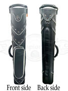 2020 New Jand J Instroke Leather Cue Cases 2x4 Holds 2 Butts And 4 Shafts H622a95