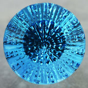122.09 Cts_world Top Class Laser Cut Attractive Natural Blue Topaz From Brazil
