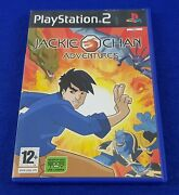 Ps2 Jackie Chan Adventures Game Pal Uk Exclusive Release