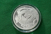 1 Oz Chinese Dragon World Of Dragons. 999 Fine Silver Coin
