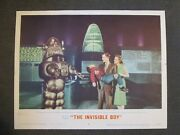 The Invisible Boy - Original 1957 Scene Card - Robby The Robot