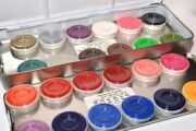 Kryolan Aquacolor Palette Refills Professional Face And Body Paint .25oz Assorted