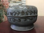 Vintage Tin Bowl With Lidplease See Photo Condition Sold As Is