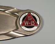 Cigar Tray W/ Enamel - Lehigh And Wilkes-barre Coal Company - Pa Anthracite Mining