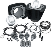 Sands Cycle Sportster Hooligan Engine Kit 1200 Cc To 1250 Cc - Black 910-0608