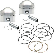 Sands Cycle Forged High Compression Performance Engine Piston Kit 106-5511