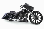Freedom Turnout 21 Exhaust System All Chrome 1995-2016 Harley Flh And Flt Hd00836