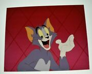 Tom And Jerry Cartoon Cel Art 1980s Vintage 4x5 Color Transparency 8