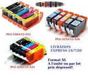 Lot Of Ink Cartridges Compatible With Printers Canon Pixma Format Xl 48h