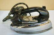 Vintage General Electric Clothes Iron 129f40 Watts 1000 Volts 115 U.s.a Works
