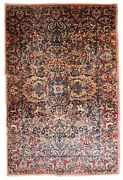 Handmade Antique Oriental Rug 4.2and039 X 6.10and039 128cm X 211cm 1920s - 1b778