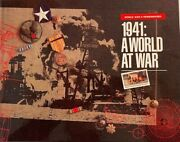 World War 2 Remembered - Set Of 5 Books And Case - Mint Condition
