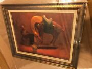 Original Oil Painting Signed By William Harnden American Impressionist 1920-1983