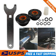 Set Front Mount Hydraulic Steering Cylinder Seal Kit With Pin Wrench For Hs5157
