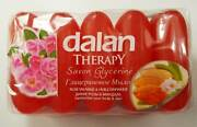 Soap Dalan Therapy Wild Roses And Almonds Oil 70gx5 350g