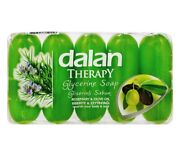 Dalan Therapy Glycerine Soap Wild Rosemary And Olive Oil 70gx5 350g