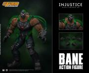 In Stock Storm Collectibles Bane Injustice Gods Among Us 1/12 Action Figure