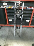 Harley Dual Disc Front End Fork Legs Tubes And Air Controls Fxr Dyna Xl Str8