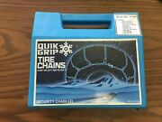 New Tire Snow Chains Usa 185/55-14 175/65-14 175/70-13 175/55-15 185/50-15