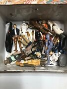 Star Wars Vintage Action Figures 1977 Lot- 21 Figures 10 Guns And Lunch Box