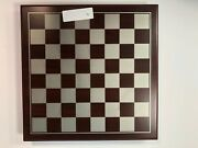 Chess Set With Wooden Drawer Container Never Used Sampled Once Free Shipping
