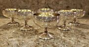 Antique Sterling Silver Desert Cups By Barbour Silver Co, Set Of 6