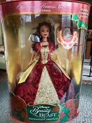 Disney Deluxe Beauty And The Beast Belle Doll Limited Edition Rare Red Dress Nib