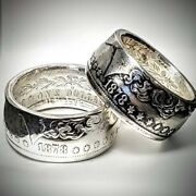 1878 First Year Morgan Dollar Coin Ring Handcraftedsizes 8-16