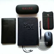 Personalised Notebook Handmade Genuine Leather Planner/notepad/diary A5 Preorder
