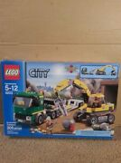 Lego City Excavator Transport 4203 Complete W Instructions And Box