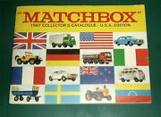 Vintage 1967 Matchbox Collectors Catalogue,england,lesney Cars And Trucks,ho Scale
