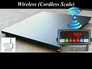 Floor Scale / Pallet Size 5and039 X 5and039 60 X 60 Wireless Scale 2500 Lbs X .5 Lb
