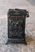 Vintage Cast Iron S. Bernstein And Co Gas Stove Still Advertising Coin Bank 1901