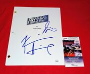 Kevin Smith And Jason Mewes Signed Jay And Silent Bob Strike Back Script Jsa Coa