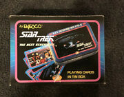 Star Trek The Next Generation Playing Cards In Tin Box By Enesco 1992 Nm/m
