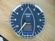 Datamarine Corinthian Wind Display Lx360 - Speed Only -for Parts Or Repair-