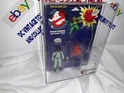 Vintage The Real Ghostbusters Winston 1st Series White Text 1986 Kenner Afa 80