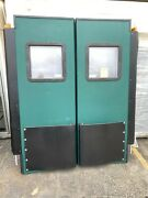 2 Door Combo Chase Double Warehouse High Impact Resitant Window 36 By 84 New