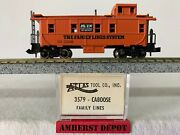 Atlas N Caboose Family Lines System N Scale Orange Caboose 3579